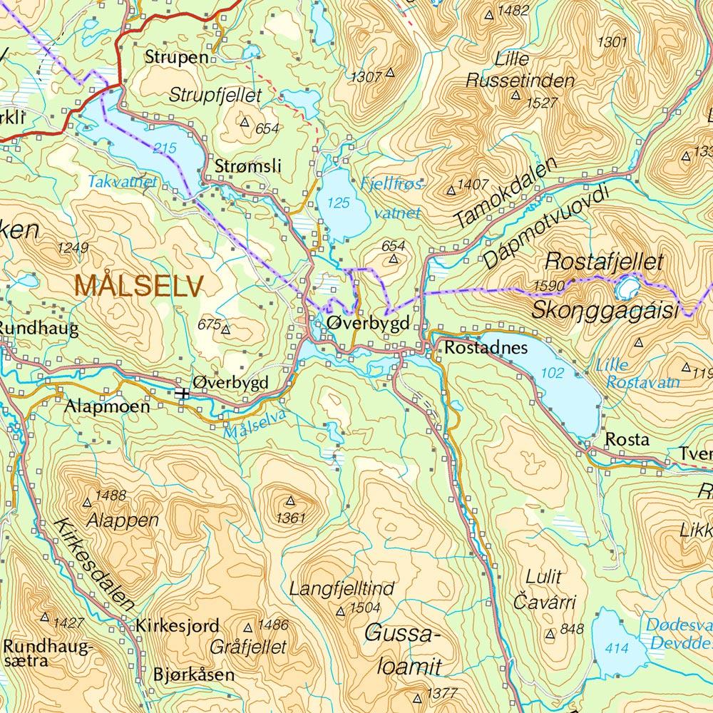 Norway Topo Maps